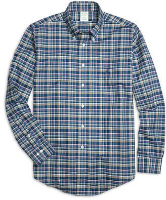 Brooks Brothers Non-Iron Milano Fit Multiplaid Sport Shirt