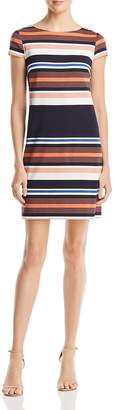 Adrianna Papell Striped T-Shirt Dress