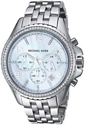 Michael Kors Women's MK5346 Pilot Silver Watch