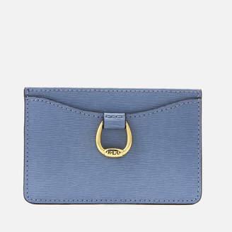 Lauren Ralph Lauren Women's Bennington Small Mini Card Case - Blue Mist