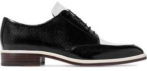 Lanvin Two-Tone Leather Brogues