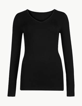 "Marks and Spencer Heatgen Plusâ""¢ Thermal Long Sleeve Top"