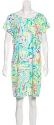 Lilly Pulitzer Short Sleeve Printed Mini Dress