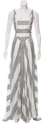 Tommy Hilfiger Striped Maxi Dress