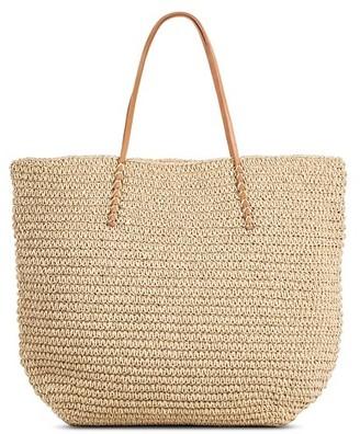 Women's Straw Tote Handbag Merona $29.99 thestylecure.com
