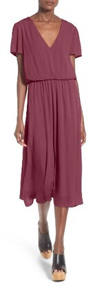 Women's Wayf Blouson Midi Dress $68 thestylecure.com