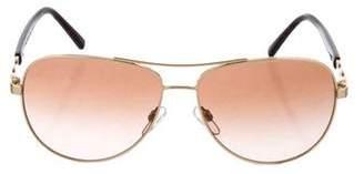 Michael Kors Tinted Aviator Sunglasses
