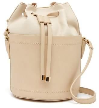 Moda Luxe Drawstring Mini Bucket Bag