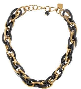 Ashley Pittman Horn Link Necklace