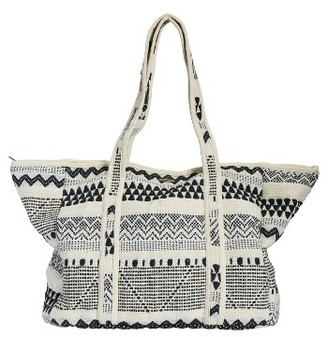 Billabong Summer's Tomorrow Woven Tote - Black $69.95 thestylecure.com
