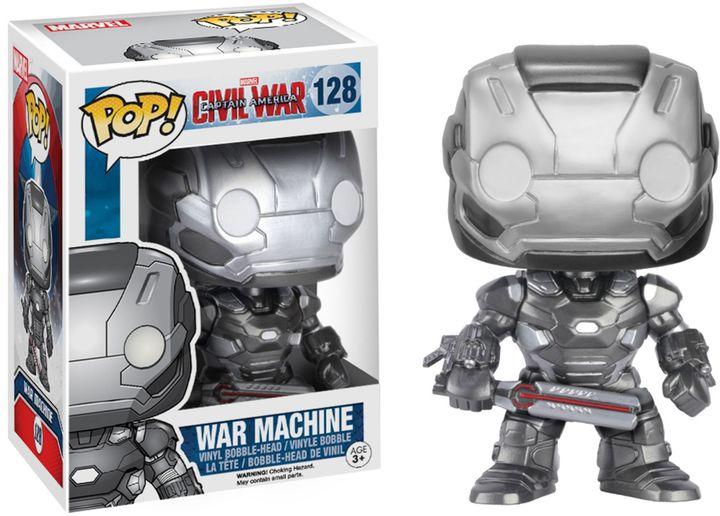 Funko Pop! Captain America: Civil War War Machine Figurine