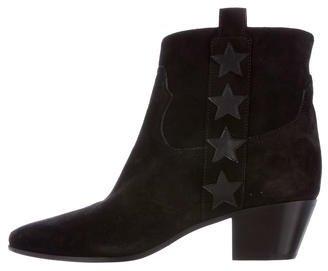 Saint LaurentSaint Laurent Wyatt Suede Ankle Boots