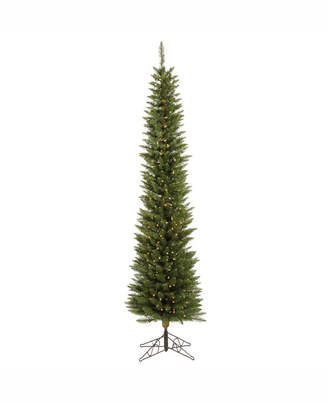 Vickerman 6.5 ft Durham Pole Pine Artificial Christmas Tree With 200 Clear Lights