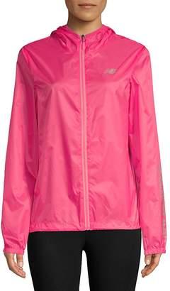 New Balance Women's Classic Hooded Full Zip Jacket