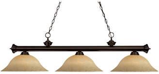 Pool' Fleur De Lis Living Bessette 3-Light Pool Table Lights Pendant