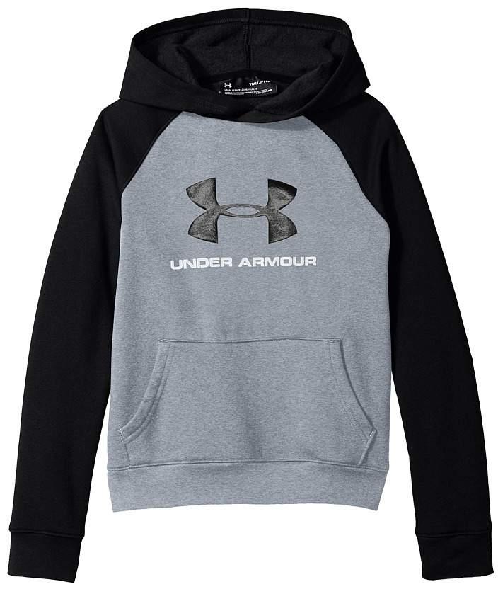 Under Armour Kids Rival UA Logo Hoodie (Big Kids)