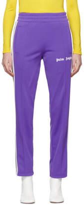 Palm Angels Purple Classic Track Pants