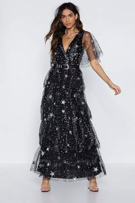 Nasty Gal All of the Stars Maxi Dress
