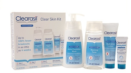 Clearasil Daily Clear Skin Kit