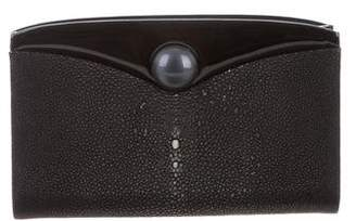 Giorgio Armani Stingray Embellished Clutch