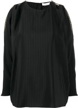 Fabiana Filippi cut-out detail blouse
