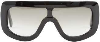 Celine Black Plastic Sunglasses