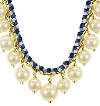 "Kate Spade Crew Ball Drop Necklace, 17"""