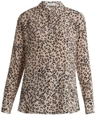 Altuzarra Chika leopard-print silk crepe de Chine shirt