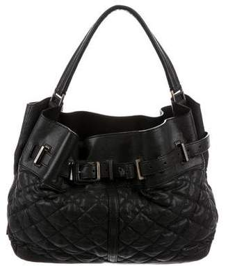 Burberry Quilted Leather Enmore Hobo