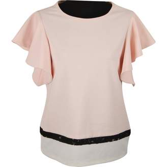 Twisty Parallel Universe Pink Cotton Tops