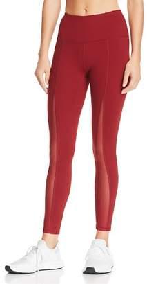 Gaiam X JESSICA BIEL Madison High-Rise Mesh-Inset Leggings