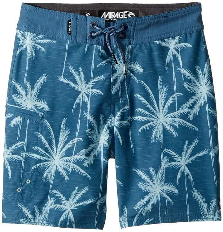 Rip Curl Kids Mirage Palm Trip Boardshorts Boy's Swimwear