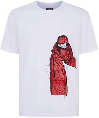 Ermenegildo Zegna Nylon Character T-Shirt