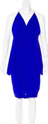 Dion Lee Silk Knee-Length Dress w/ Tags