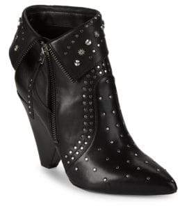 Sam Edelman Royce Studded Leather Ankle Boots