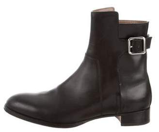 Hermes Leather Ankle Boots