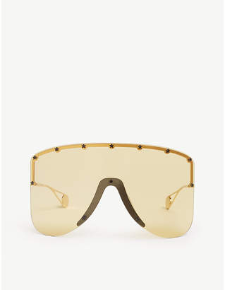 Gucci Gg0541s mask-frame sunglasses