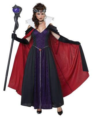 California Costumes Womens Evil Storybook Queen Costume Size Small 6-8