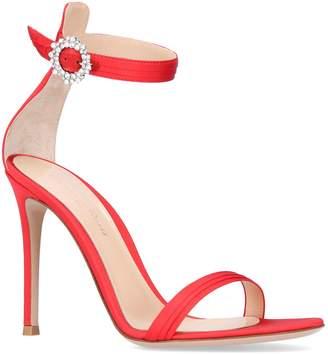 Ava Embellished Brooch Sandals