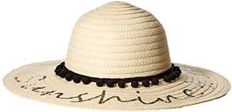 Betsey Johnson Women's Sunshine and Chill Floppy Hat