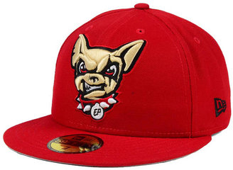 New Era EL Paso Chihuahuas Logo Grand 59FIFTY Fitted Cap $34.99 thestylecure.com