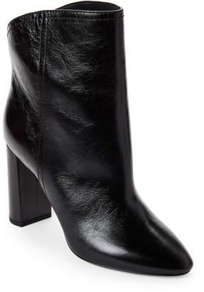 Saint Laurent Black Loulou Leather Ankle Booties