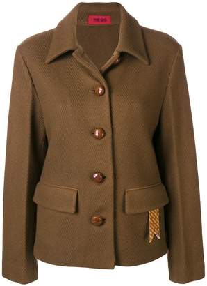 The Gigi cutaway collar jacket