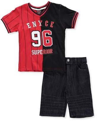 Enyce Big Boys' 2-Piece Short Set Outfit