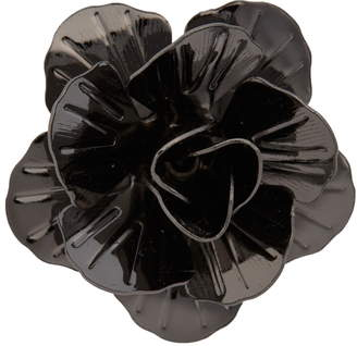 hook + ALBERT Metallic Floral Lapel Pin