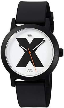 Vestal ' Alpha Bravo 10 ATM' Quartz Plastic Casual Watch