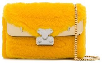 Fendi Bag Bugs lamb-fur shoulder bag