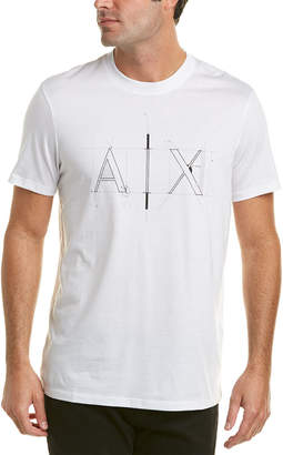 Armani Exchange Math Logo T-Shirt