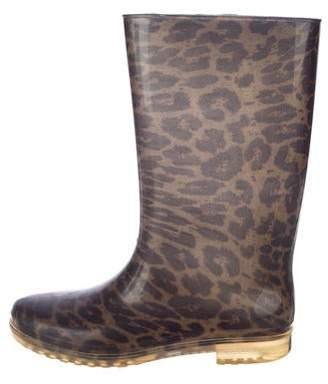 Stuart Weitzman Rubber Rain Boots