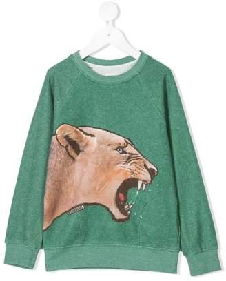 Madson Discount Kids jaguar print sweatshirt